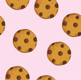Vector Chocolate Chip Cookie vector illustration