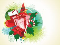 Vector Chrismas background. Royalty Free Stock Photography