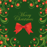 Vector Christmas abstract background Stock Photo
