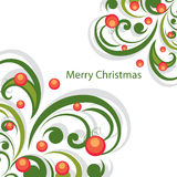 Vector Christmas abstract background Stock Image