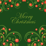 Vector Christmas abstract background Royalty Free Stock Images