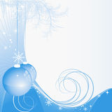 Vector christmas backdrop Stock Images