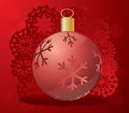Vector christmas background Royalty Free Stock Photo
