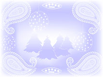 Vector christmas background Royalty Free Stock Images