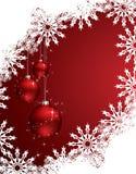 Vector christmas background Stock Photos