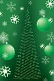 Vector Christmas background. Royalty Free Stock Image