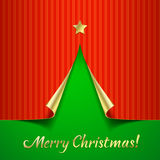 Vector Christmas background Stock Photo