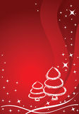 Vector christmas background Stock Image