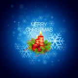 Vector Christmas background with candles. EPS 10 Stock Photos