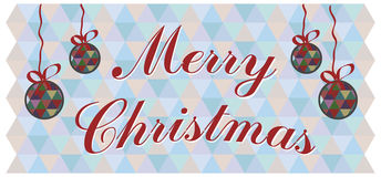 Vector christmas background. And congratulations Stock Photos