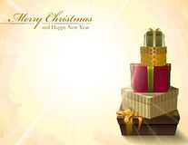 Vector Christmas background. eps10 Royalty Free Stock Images