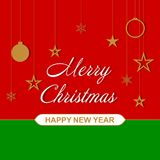 Vector Christmas background for festive design. Christmas background for festive design. Vector illustration Royalty Free Stock Image
