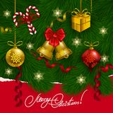 Vector christmas background Royalty Free Stock Photos