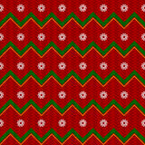 Vector Christmas Background. With Snowflakes Stock Image