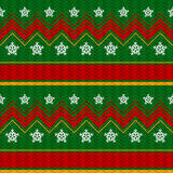 Vector Christmas Background. With Snowflakes Royalty Free Stock Photos