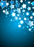 Vector Christmas Background with Stylized Star. Clip-art Stock Photography