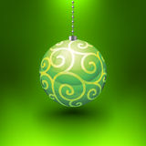Vector Christmas Ball Royalty Free Stock Photo