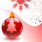 Vector christmas ball Royalty Free Stock Photography