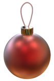 Vector Christmas ball. Royalty Free Stock Photos