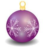 Vector christmas ball Stock Photography
