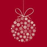 Vector Christmas Ball Stock Images