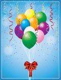 Vector Christmas Balloon Stock Image