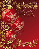 Vector Christmas Balls Royalty Free Stock Image