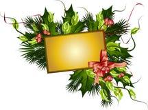 Vector christmas banner Stock Image