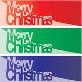 Vector Christmas Banner Stock Photos