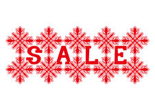Vector christmas banner. Sale. Royalty Free Stock Photos