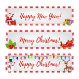 Vector Christmas banners for sale, discounts vector illustration