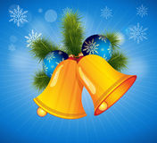 Vector Christmas Bell Royalty Free Stock Image