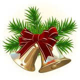 Vector. Christmas Bells Royalty Free Stock Photo