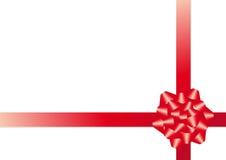 Vector christmas bow Royalty Free Stock Image