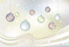 Vector Christmas card Stock Photo