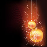 Vector Christmas card Royalty Free Stock Image