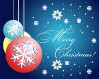 Vector Christmas Card royalty free stock photo