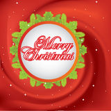 Vector Christmas card Royalty Free Stock Photography