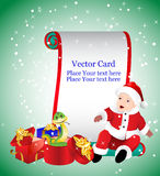 Vector Christmas Card. Royalty Free Stock Photos