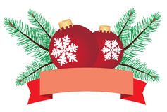 Vector Christmas Card Royalty Free Stock Photography