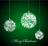 Vector Christmas card Royalty Free Stock Photo