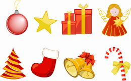 Vector Christmas  Collection Stock Photos
