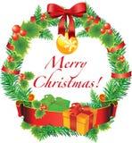 Vector Christmas decoration Stock Photography