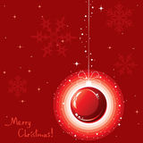 vector Christmas decoration Stock Images