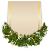 Vector Christmas Decoration with Card Stock Photography