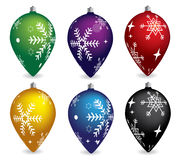 Vector Christmas decoration elements Stock Image