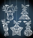 Vector christmas design Stock Photos