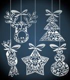 Vector christmas design Stock Photos