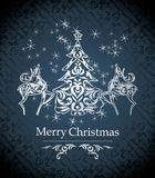 Vector christmas design Stock Image