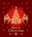 Vector christmas design Stock Images